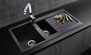 Kitchen Granite Sinks Durable And Wearing Granite Kitchen Sinks From Bluci Franke Reginox And More Taps