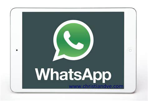 imagenes y videos wasap truco c 243 mo quot instalar quot y usar whatsapp en el ipad paso a paso