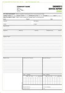 Service Sheet Template by Free Service Report Forms Templates Service Report Sets