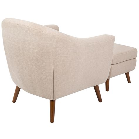 ottoman seating with back living radbury beige modern chair ottoman eurway