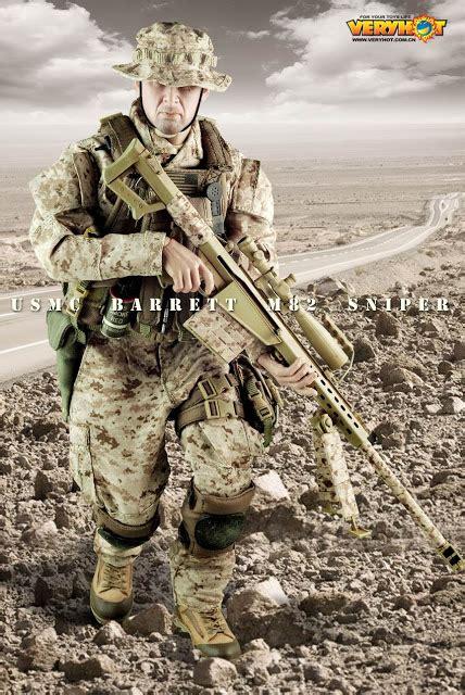 Hbj1467 16 Multicam Devgru Sniper Set toyhaven veryhot 1 6 usmc barrett m82 sniper set preview