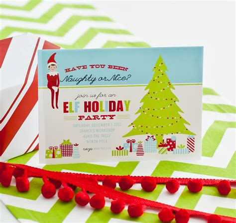 printable birthday card from elf on the shelf our new christmas holiday 2012 collection the magic elf