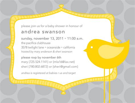 Baby Shower Evites by It S All Polkadots Baby Shower Invites