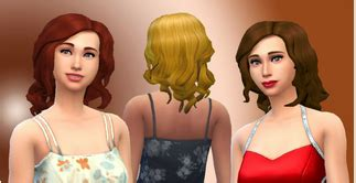 sims 2 coiffure coiffures sims 4 page 2 les sims