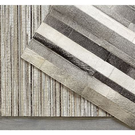 crate and barrel cowhide rug faust striped cowhide 9 x12 rug crate and barrel grey rugs and crate and barrel