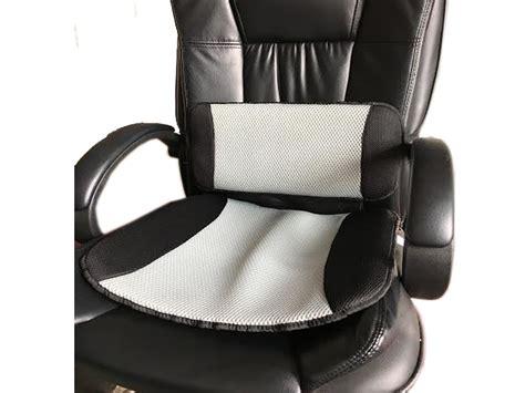 desk chair pillow car cooling lumbar back support pillow seat cushion