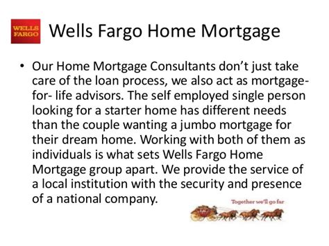 fargo home mortgage presentation