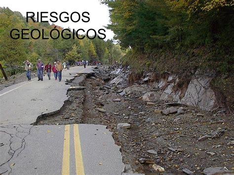 imagenes de riesgos naturales geologicos riesgos geol 211 gicos ppt descargar