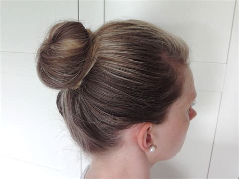pictures of bun hair covered bun donut beauty best friend uk beauty blog