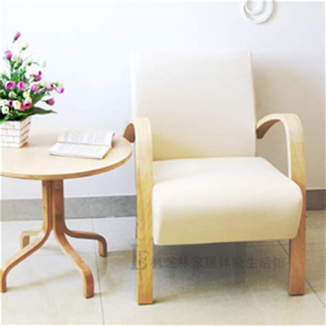 ikea small armchair special single sofa chair coffee chair small apartment lounge chair armchair wood sofa