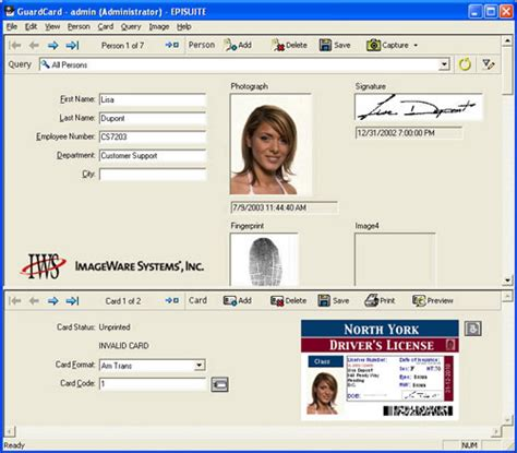 id card software epi suite pro id card software 11 02 01 id wholesaler
