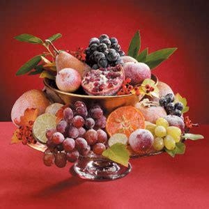 how to make a fruit centerpiece sugared fruit centerpiece recipe taste of home