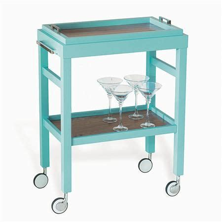 removable tray top rolling bar cart with removable tray top available in 3