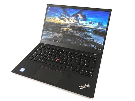 Laptop Lenovo Thinkpad X1 lenovo thinkpad x1 carbon 2017 i7 hd laptop review notebookcheck net reviews