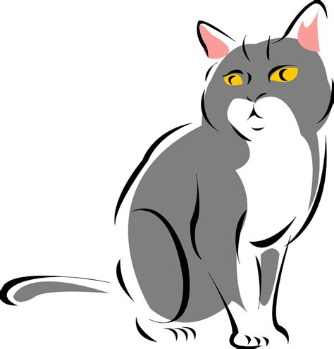 cat clipart free black cat clip cliparts co