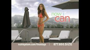 nutrisystem commercial actress jillian nutrisystem fresh start sales event tv commercial