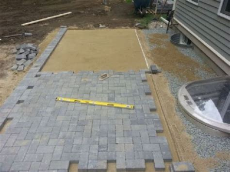 Installing Patio Pavers On Sand Patio Paver Sand