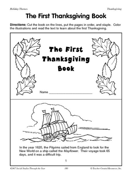 printable turkey mini books thanksgiving for lower elementary collection lesson planet