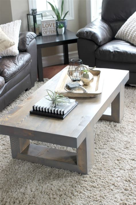 modern coffee table build plans create celebrate