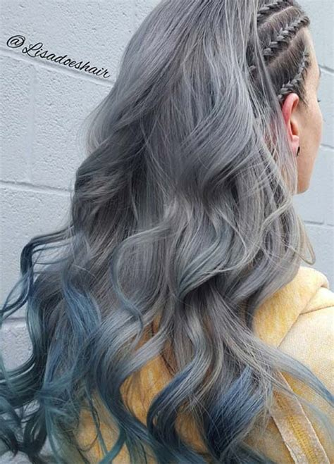 salt and pepper hair with lilac tips tips for salt and pepper hair how bourgeois going gray