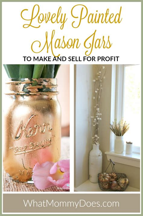 crafts to make and sell for profit 13 jar crafts to make sell for what does