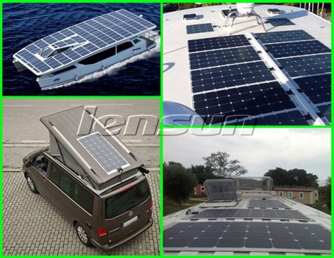 where can you put solar panels what is different of lensun solar panel with
