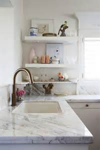 Marble Kitchen Marble Countertops Eclectic Kitchen Meredith Heron