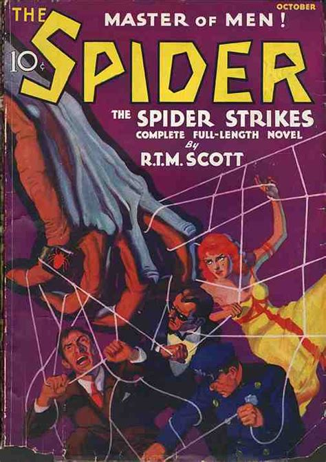 the of the spider books spider pulp fiction