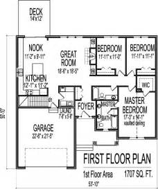 One Level House Plans With Basement Simple Drawings Of Houses Elevation 3 Bedroom House Floor