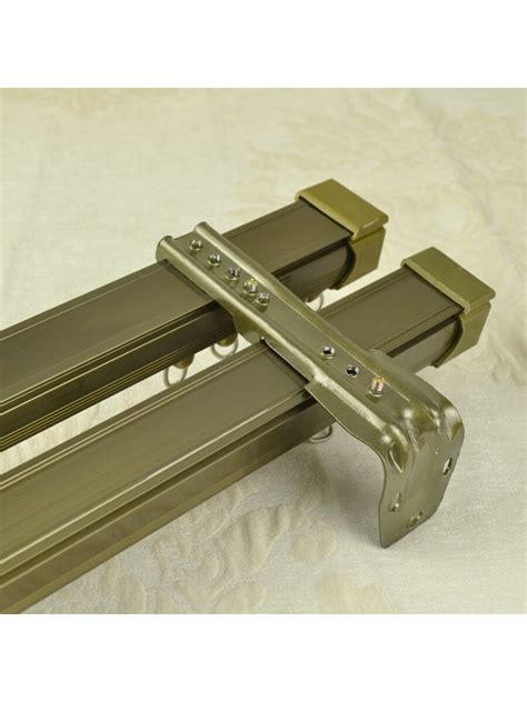 aluminum curtain track qyr7022 aluminum alloy double curtain track set