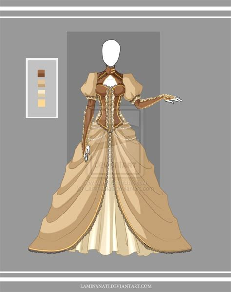 design victorian dress adoptable outfit 21 closed by laminanati medieval