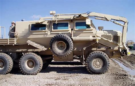 Hummer Husky Army buffalo armored vehicle