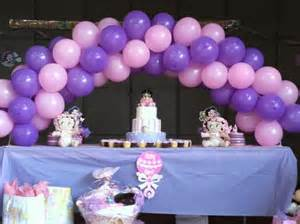 balloon decorations for baby shower favors ideas