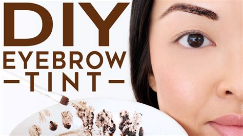 how to your at home how to tint your eyebrows at home naturally diy recipe