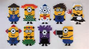 minions le les minions on perler minions and hama