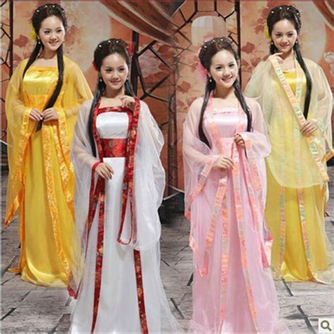 12 color Traditional Women Tang Ancient Chinese Costume