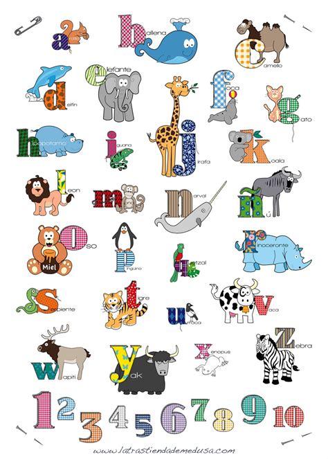 Imagenes De Animales Por Abecedario   divertido abecedario con animales