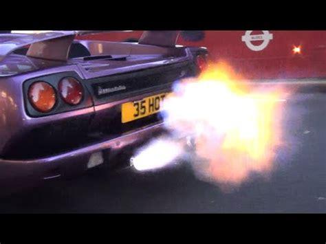 Lamborghini Diablo Sv Purple Purple Lamborghini Diablo Sv Flames Speed Society