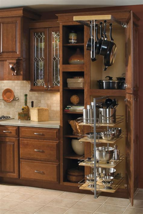 Pots And Pans Rack Cabinet utility storage cabinet with pantry pullout