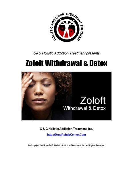 Detox Zoloft by 167 Best Rehab Pdf Reports Images On