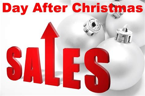 the day after christmas sales and bargains