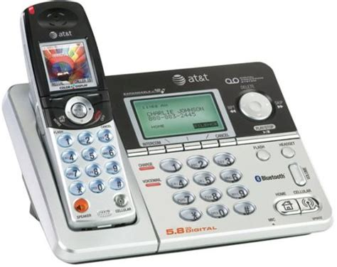 at t transfer phone number at t ep5632 digital 5 8 ghz expandable bluetooth enabled cordless telephone with answering