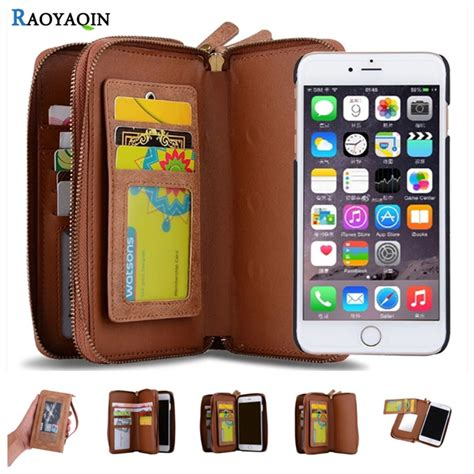 luxury business women man wallet leather flip case cover  coque iphone