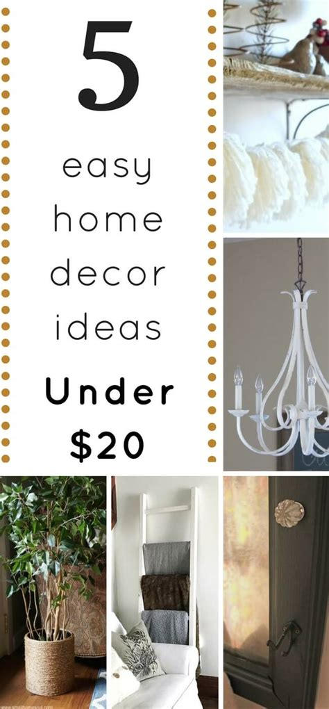 1915 Home Decor by Five Home Decor Ideas You Can Diy For 20 Or Less 1915 House