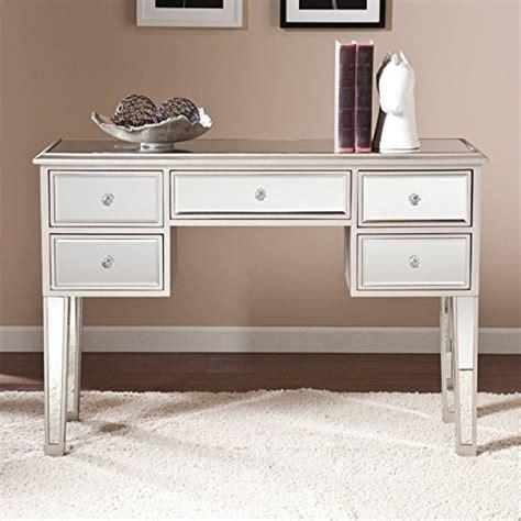 illusions collection mirrored console table desk small mirrored desk home furniture design