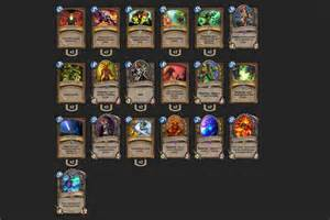 hearthstone deck druide attack and defense druid deck built for high rank 2p