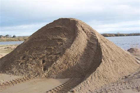 sand in pit plastering pit sand