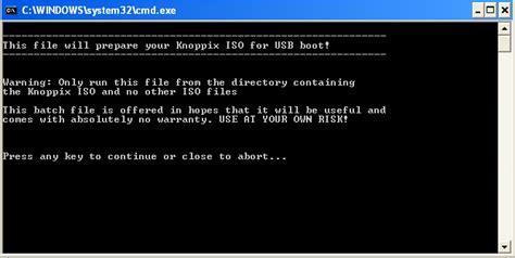 knoppix format fat32 installasi knoppix lewat usb flash c h mbanjar