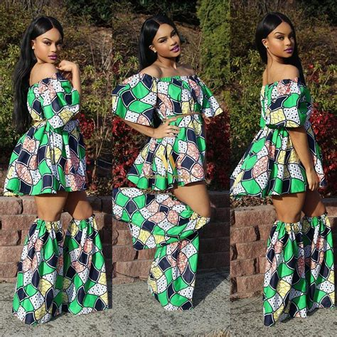 latest nigerian ankara styles latest ankara fashion 100 super cute ankara skater dress