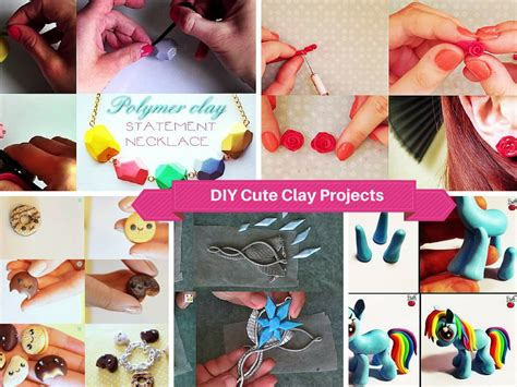 diy project ideas for 9 and easy diy polymer clay projects